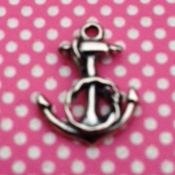 Anchor Charm with Rope New