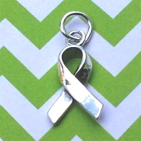 Awareness Ribbon Charm As seen in InStyle Weddings